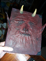 Imp-Skin Covered Book