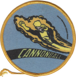 1985 Cannonball patch